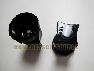 Replacement Sanborn Manifold Plastic Air Compressor Regulator Valve Knob