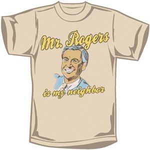 Amazon com: Mr  Roger's Neighborhood Men's Slim Fit T-Shirt