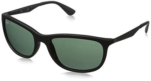 RB Noir Black Ban Green Sonnenbrille Matte 4267 Ray SqEvCCw