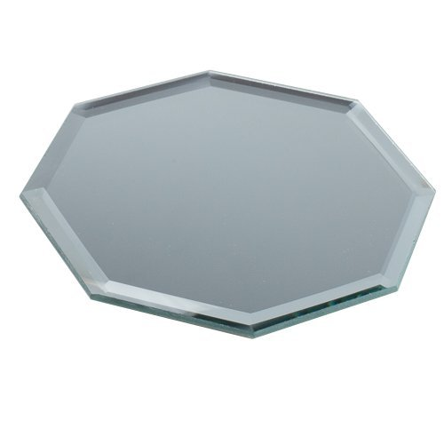 Eastland 5' Octagon Beveled Centerpiece Table Mirror Set of 12