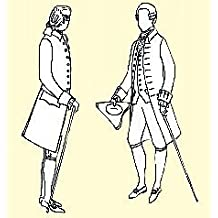 1770-1780 Frock Coat Pattern (42 Chest) by JP Ryan Patterns