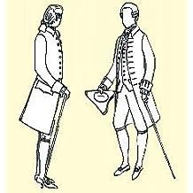 1770-1780 Frock Coat Pattern (42 Chest) by JP Ryan Patterns