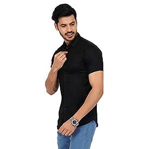 U-TURN Men's Slim Fit Shirt