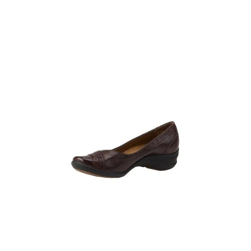 H501734 Hush Puppies Women's Burlesque Casual Shoes - Dark Brown - 7.0 - W