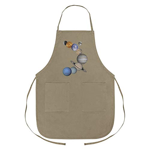 Graphics and More Solar System Planets Mercury Venus Mars Earth Moon Jupiter Saturn Uranus Neptune Apron with Pockets by Graphics and More