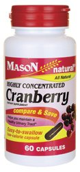 Mason Natural Highly Concentrated Cranberry 60 Caps