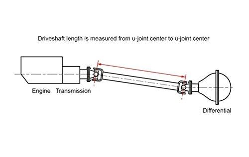 Cardone 65-9371 Remanufactured Prop Shaft