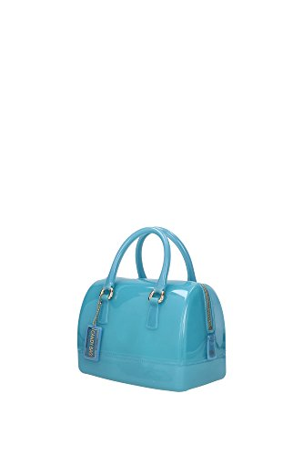 Furla Candy Cookie S Satchel turquoise