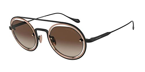 Sunglasses Giorgio Armani AR 6085 300113 MATTE BLACK/BRONZE (Armani Sunglasses Giorgio)