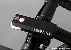 NEW HL-EL084RC  Black CatEye Bike Light Ampp400 USB