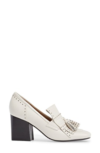 Marc Fisher Womens Mellie Leather Square Toe Classic Pumps Ivory Leather wznkl