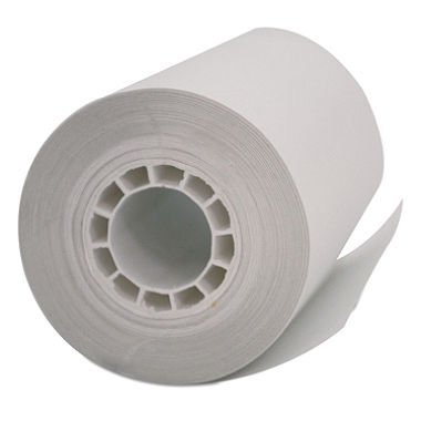 PM Company POS/Cash Register One-Ply Thermal Rolls, 2-1/4 x 55 Feet, White, 50-Pack (05262)