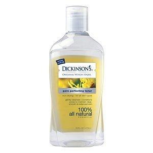 Toner Facial Bmr (Dickinsons Original Witch Hazel Pore Perfecting Toner,  16oz Bottles(Pack of 6))