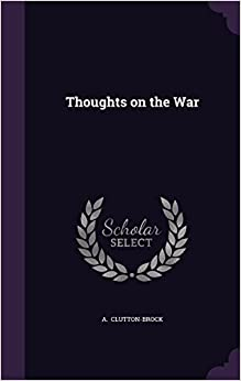 Book Thoughts on the War