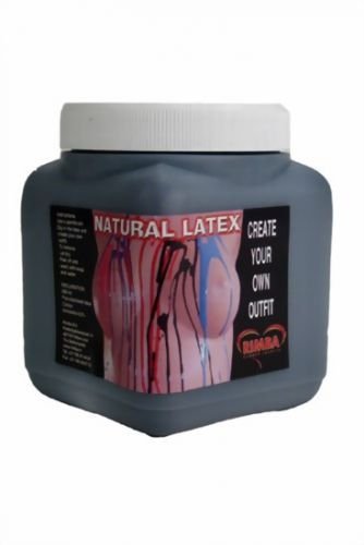 Body Paint Equipment - Liquid Latex Black 450 ml