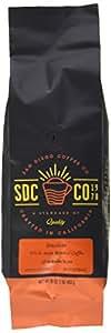 San Diego Whole Bean Roasted Coffee, Brazilian, 16 Ounce
