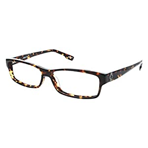 Spy Kyan Rectangular Eyeglasses,Dark Tortoise,56 mm