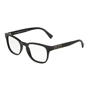 Dolce&Gabbana DG3260 Eyeglass Frames 501-52 - Black DG3260-501-52