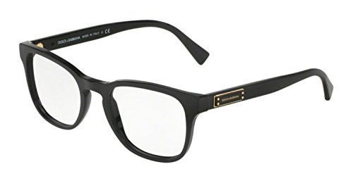 Dolce&Gabbana DG3260 Eyeglass Frames 501-50 - Black - Gabbana Dolce Glasses Optical And
