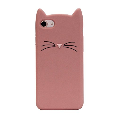 iPhone SE Case, MC Fashion Cute 3D Pink - Cat Iphone 4 Case