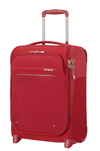 SAMSONITE B-Lite Icon - Upright with USB port Hand Luggage 45 centimeters 28 Red (Best Samsonite Carry On 2019)