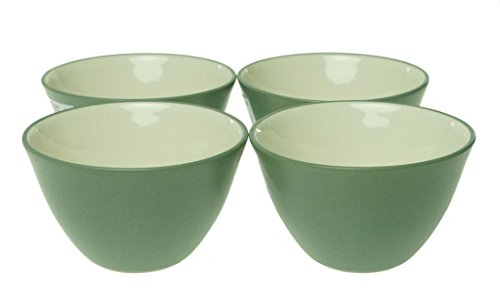 (Noritake 4-Inch Colorwave Bowl, Green, Set of 4)