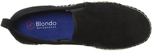 Blondo Women's Basha Waterproof Platform Black Suede v7ZZdm380r