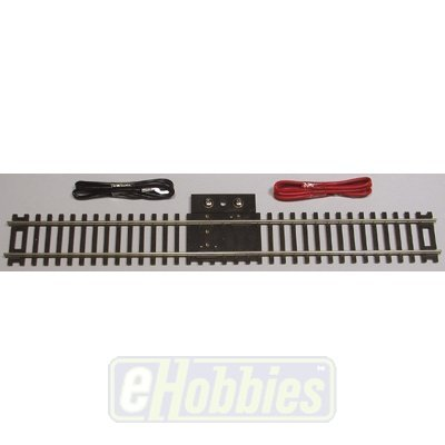 """Code 83 Nickel Silver 9"""" Straight Terminal Track w/Wire HO Scale Atlas Trains"""