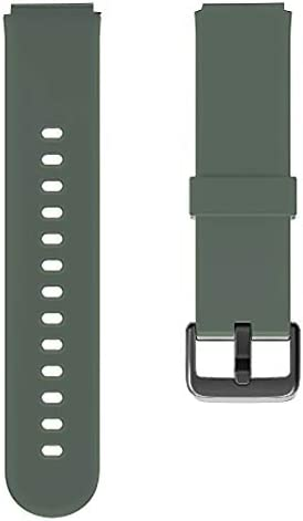 Soft TPU Replacement Watch Bands for YAMAY 023 ID205U Smart Watch (Green)