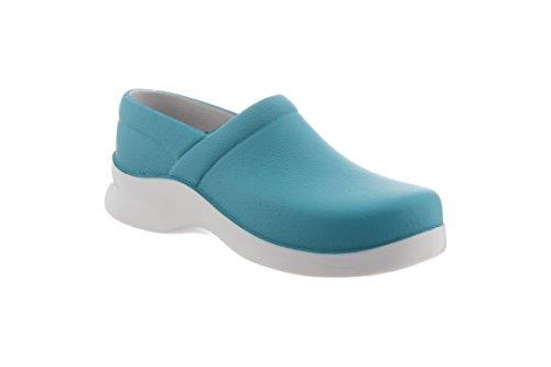 Klogs Footwear Women's Boca Chef Clog Enamel Blue