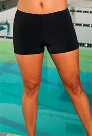 Aquabelle Women's Xtra Life Lycra Boy Short 10 Black