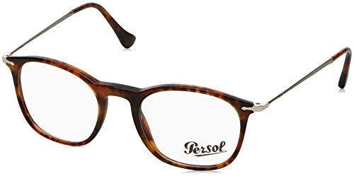 Persol Montures de lunettes 3124 Light Tortoise, 48mm 108: Light Tortoise