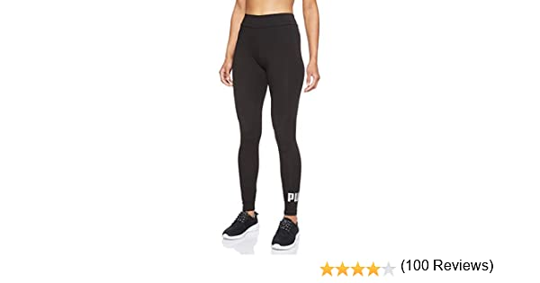 PUMA Essentials Logo W Legging Deportivo de Talle Alto, Mujer ...