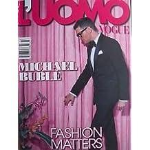 Amazon luomo vogue magazine books luomo vogue magazine february 2014 michael buble cover fandeluxe Choice Image