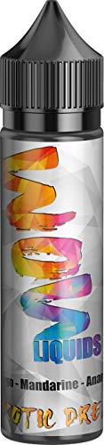 E-Zigarette E Liquid ohne Nikotin I 1 x 50ml I WOW LIQUIDS Vape Liquid 70 VG/30 PG für elektronische Zigaretten oder…