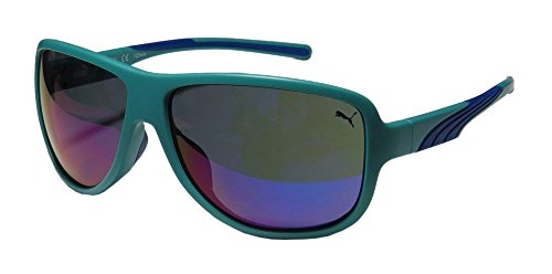Puma 15159 Clubtail Mens/Womens Designer Full-rim Mirrored Lenses Sunglasses/Shades (59-13-125, - Puma For Sunglasses Men
