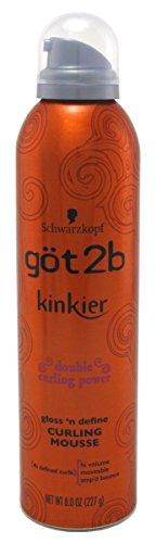 Got 2B Kinkier Curling Mousse 8 Ounce