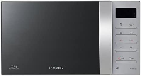 Horno de microondas Samsung, plateado, nuevo con defectos ...