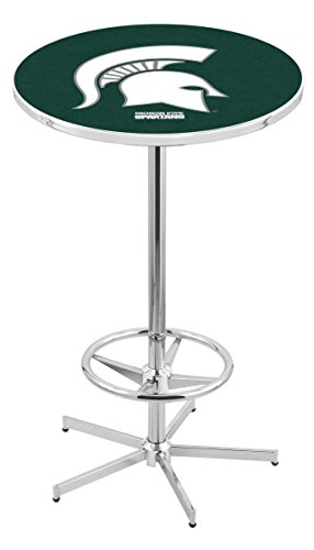 Holland Bar Stool L216C Michigan State University Officially Licensed Pub Table, 28