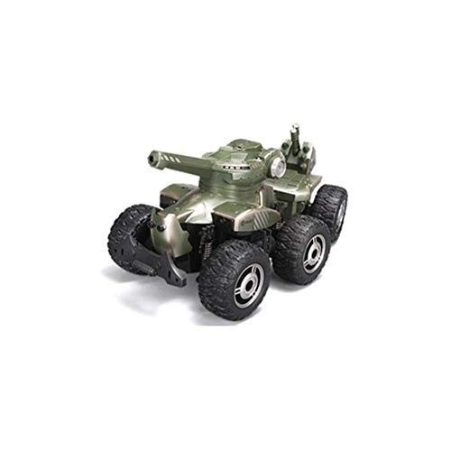 TBFEI High Horsepower Detachable Light Toy Car Boy Girl Gift Kids 3+ Oversized Creative Six Rounds Emission Remote Control Car Child Chargeable Electric Wireless Tank RC Car