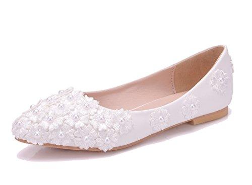 Compensées Blanc Sandales 5 Joymod Femme MGM 36 Blanc IRxFwcqF5E