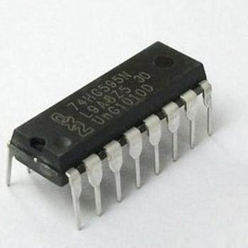 MissBirdler IC 74HC595 74595 SN74HC595N SN74HC595 8-Bit Shift Register for Arduino Raspberry Pi Pack of 5
