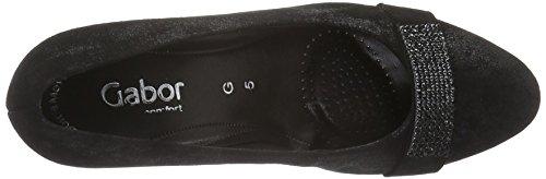 Gabor Shoes Comfort Fashion 52.163, Zapatos de Tacón para Mujer Negro (Schwarz 97)