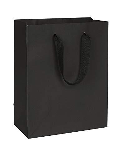 Broadway Black Manhattan Eco Euro-Shoppers, 8 x 4 x 10