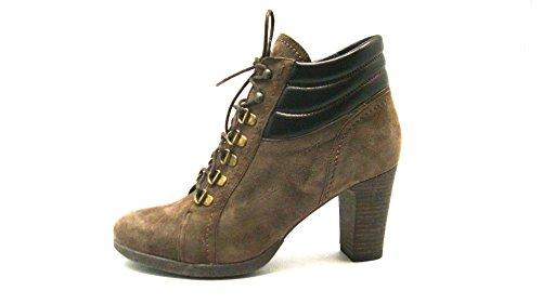GRÜNLAND Women's Francesina Court Shoes beige taupe u6HKz1D