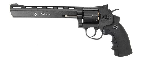"ASG Dan Wesson 8"" CO2 Powered Airgun Revolver"