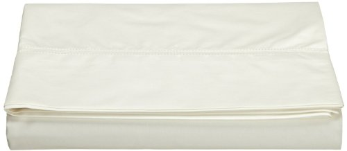 Peacock Alley Lyric Fitted Sheet, King, Ivory