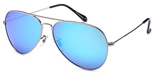 "PRIVÉ REVAUX ""The Commando"" Polarized Aviator Sunglasses - Handcrafted Designer Eyewear For Men & Women - Designers Eyewear"