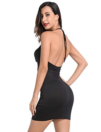 f01a17269736 ... Lomantise Sexy Backless-Cocktail-Dress, Bodycon Evening Party-Dress  (17- ...