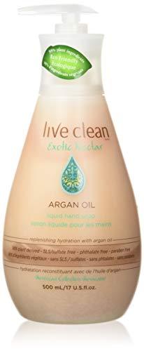 Live Clean Argan Oil Replenishing Liquid Hand Soap, 500 mL